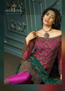 Asim jofa 3piece dress