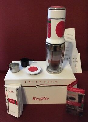 Barsetto Tripresso Portable Espresso Coffee Machine Coffee Capsules/Ground C.
