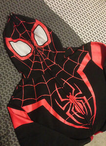Spider-man I Am Miles Morales Hoodie Men's SMALL