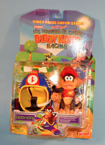 1999 Nintendo DIDDY KONG Racing Action Figure Toy
