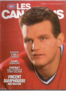 Magazine Canadiens 1994-95  Vincent Damphousse