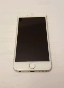 Iphone 6 16gb Silver with Bell & Virgin $200