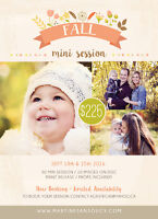 Amazing Fall Mini Session Special!