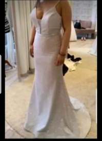 NEW with tags in bridal bag Size.10 prom bridesmaid dress
