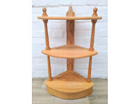 Ercol Pine Line Floor Standing Corner Unit (DELIVERY AVAILABLE)
