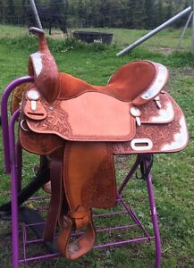 "16"" Billy cook show saddle & Feed dish"