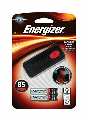 Energizer  85 lumens Black  LED  Cap Light  AAA Battery for sale  Shipping to India