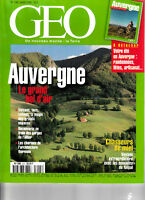 GEO Auvergne Le grand bol d'air (No 245 Octobre 1999)