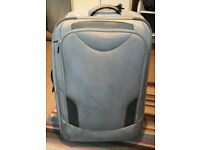 Pair of Large Grey M&S Suitcases