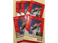 Canon Photo Paper Plus Glossy (5 x 20 sheets = 100) - 4 x 6