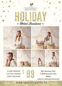 Holiday Mini Sessions ~ London, ON $99 London Ontario image 1