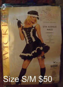 Womens Halloween costumes all size S/M