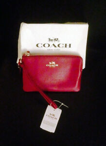 Coach Wristlet with tags