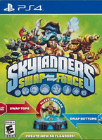 PS4 or PS3 Skylanders Swap Force Game and Portal
