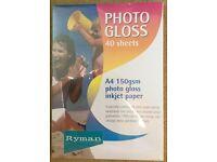 2 x Photo Gloss Inkjet Paper