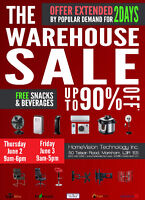 WAREHOUSE SALE June 2-3 ( This Thursday and Friday) Don't Miss