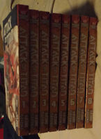Attack on Titian Vol 1-8