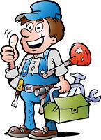 Handyman& Mobile snowblower repairs  Lock installations Handyman