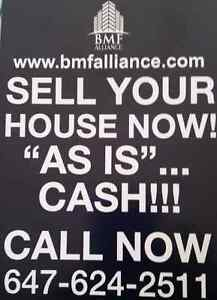 WE BUY HOMES FOR CASH NOW!