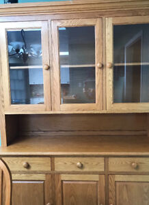 Solid wood Mennonite-made Dining Room Hutch / Sideboard