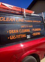 Clear Line Plumbing -   Premier service. Premier quality