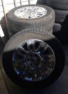 4 - 2012 Ford Expedition or F150 Platinum Wheels and Tires