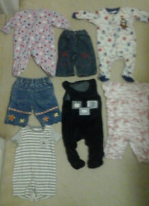 Baby Clothes Lot of 7 pieces (newborn to 3-6 months)