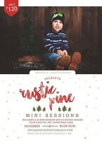 Christmas Mini Sessions - ONLY 2 spots left!!