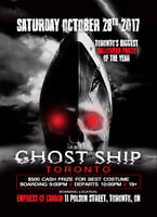 BARRIE INVITE TO GHOST SHIP TORONTO