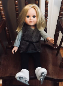AMERICAN GIRL - TRULY ME -Blue Eyes, Medium-Length Blond Hair, L
