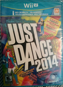 Just Dance 2014 - Nintendo Wii U (BRAND NEW and SEALED!)