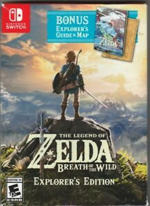 ZELDA BREATH OF THE WILD EXPLORERS EDITION NINTENDOSWITCH GAME