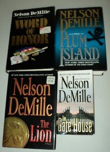 4 Novels by Nelson DeMille   (3 Hardcover)