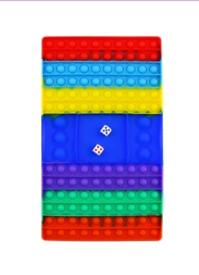 Fidget popper board game - push and pop