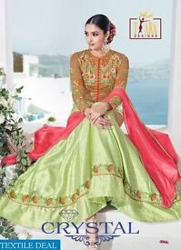 TARA CRYSTAL WHOLESALE DESIGNER ETHNIC SALWAR SUITS