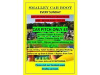 Smalley car boot sale