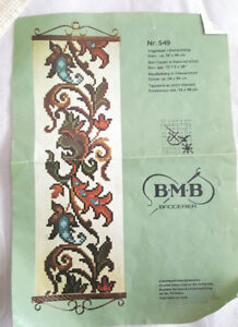Norway BMB Broderier KIT - Wall Hanging in Diamond Stitch