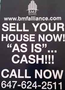WE BUY HOMES FOR CASH NOW  Cambridge Kitchener Area image 1