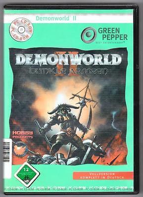 Demonworld II 2 Dunkle Armeen Fantasy Strategie PC Spiel
