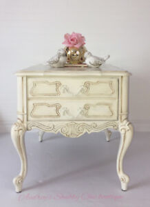 Romantic French Style Nightstand