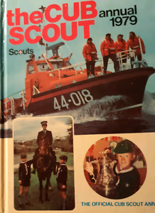 The Cub Scout Annual 1979 In good condition.  Pi