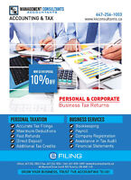 TAX-INCOME TAX- $20-TAX SERVICE-TAXES-ACCOUNTING