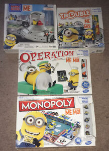 Despicable Me Minions Boardgame Lot ~ Monopoly Trouble Operation