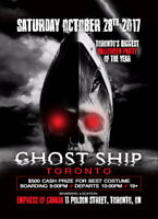 BRANTFORD INVITE TO GHOSTSHIP TORONTO
