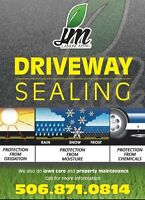 Driveway Sealing in Greater Moncton!