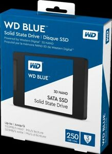 6 disques Solid State Drive SSD WD Blue  250go  NEUFS