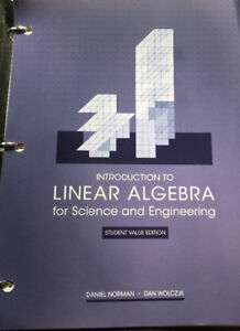 Selling linear algebra for science and engineering