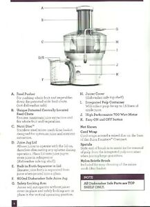 JUICER BY BREVILLE - LIKE NEW