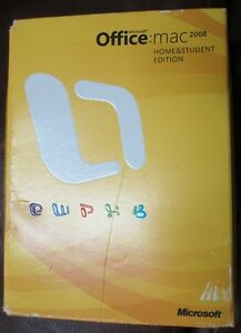 Genuine DVD Microsoft Office 2008 Home & Student Edition