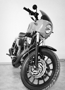 Sporster 1200 style cafe racer